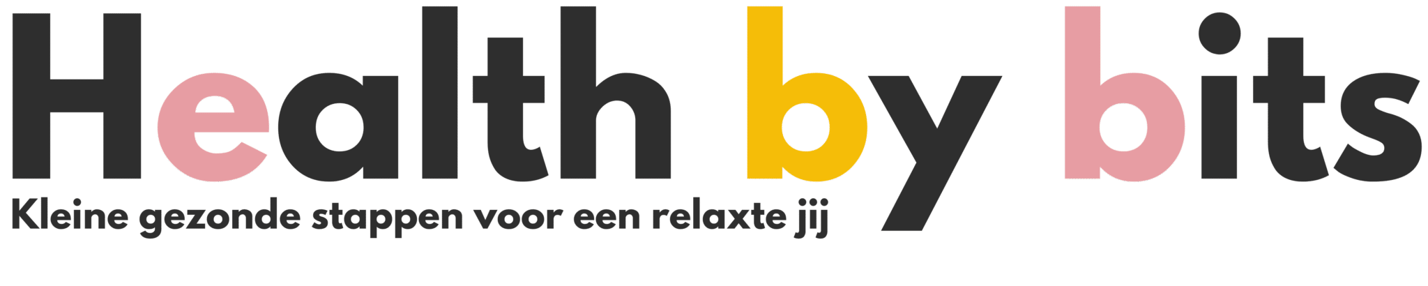 health by bits logo groot trsnp
